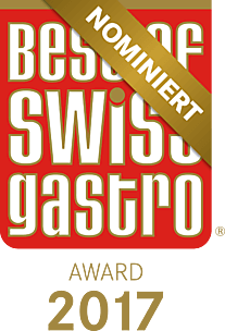 Award best of swiss gastro