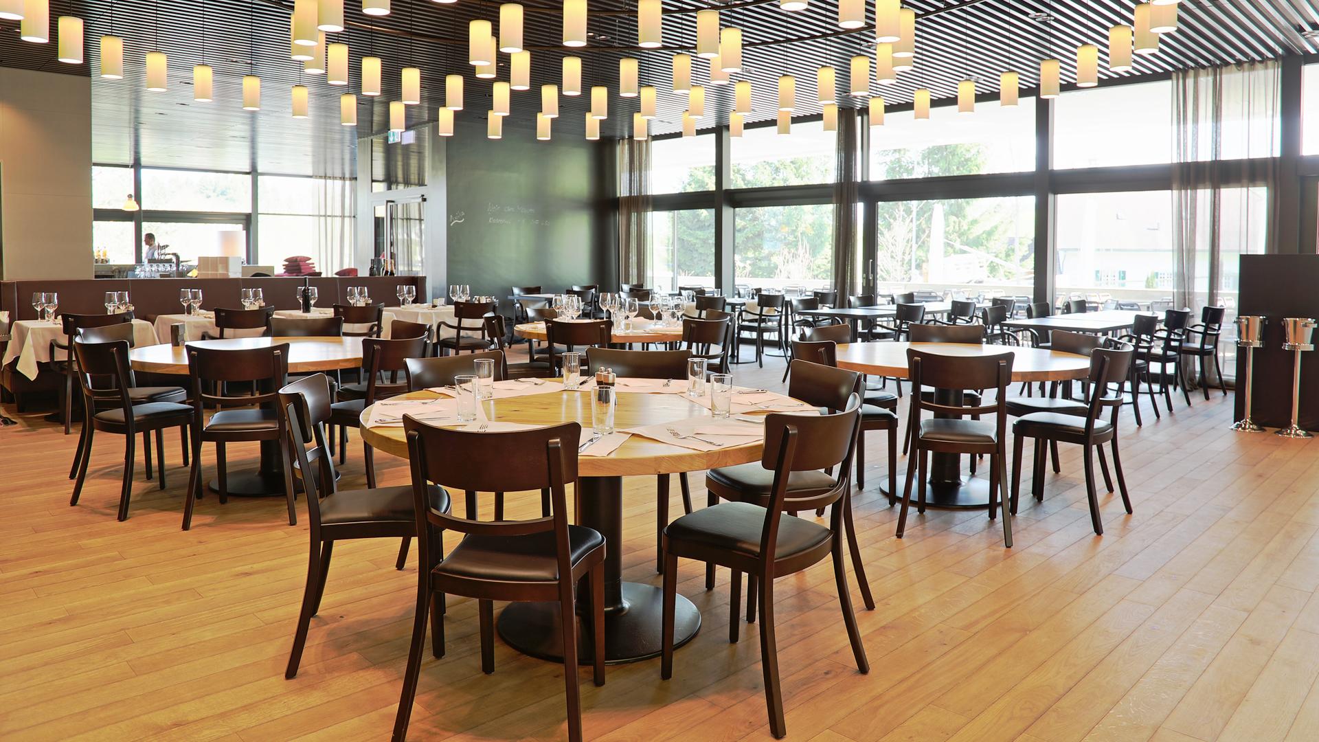 Innenansicht Restaurant Baulüüt