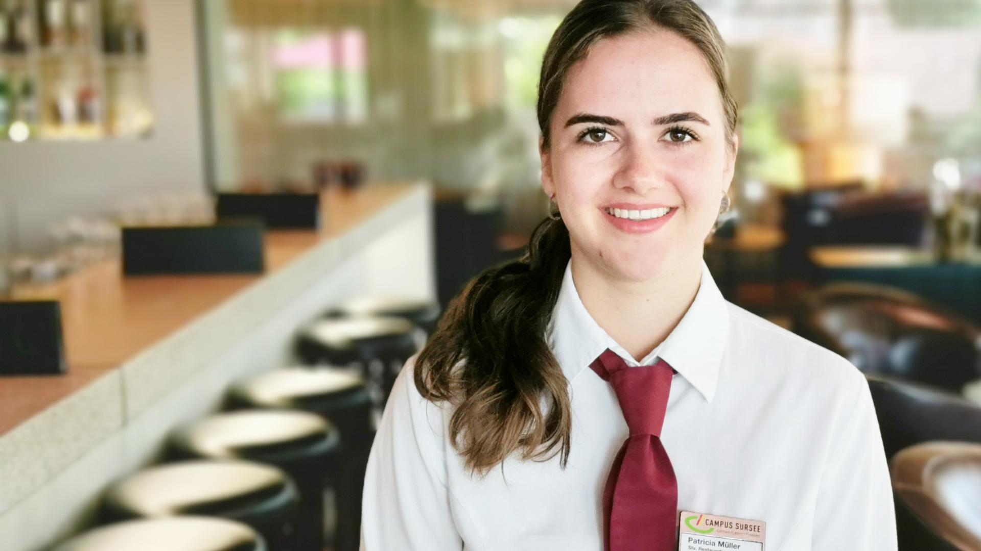 Patricia Müller, Stv. Restaurantleiterin