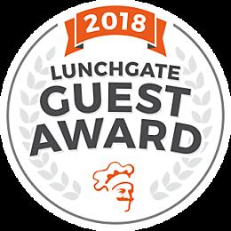 2018 Guest Award von Lunchgate