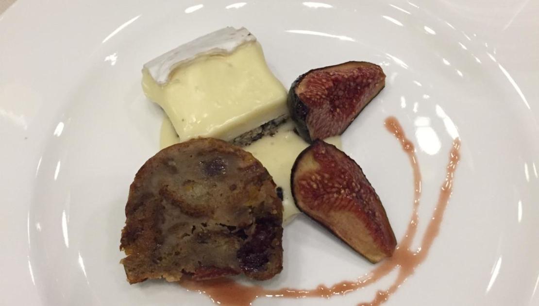 Dessert im Baulüüt: Feigen und Trüffel